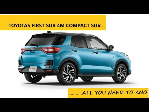 Toyota Raize SUV Review--Pictures || Features || Indian Launch details ||