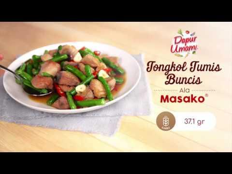 Dapur Umami - Tongkol Tumis Buncis ala Masako