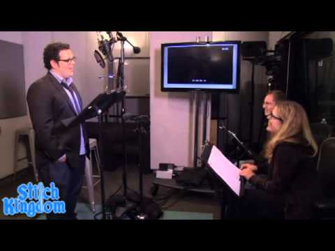 disneys frozen behind the scenes voice actors youtube