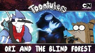 ¡HACIENDO LAS PACES CON RIGBY Y SALVANDO AL TOTOROTE! | Toontubers | Cartoon Network