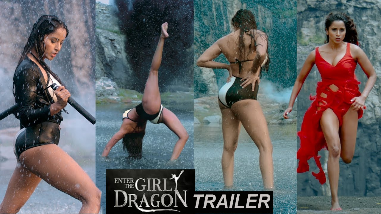 Enter The Girl dragon Movie OFFICIAL Trailer | RGV | India's First Martial Film | Pooja Bhaleka