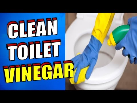How To Clean A Toilet With Vinegar