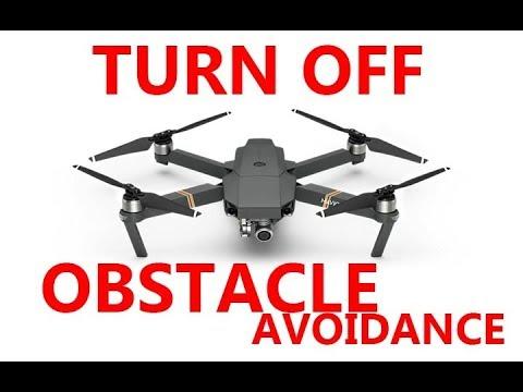 DJI Mavic Pro/Air TURN OBSTACLE AVOIDANCE OFF! (SOMETIMES)