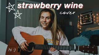 Strawberry Wine cover by Deana Carter (acoustic)