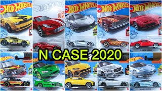 PREVIEW | HOT WHEELS - N CASE 2020! Dodge Challenger SRT Demon! Koenigsegg Jesko!