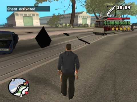 GTA San Andreas   6 Star Rampage on Top of the Trem