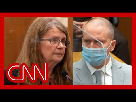 Derek Chauvin's mom speaks at sentencing