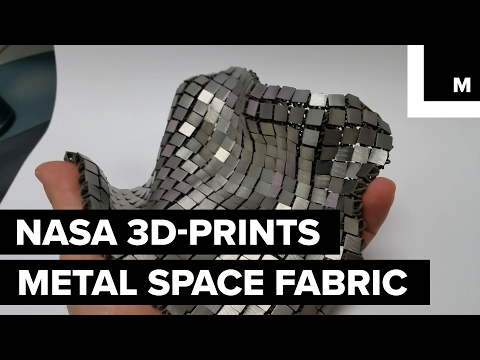 NASA designed space fabric to make space suits more flexible
