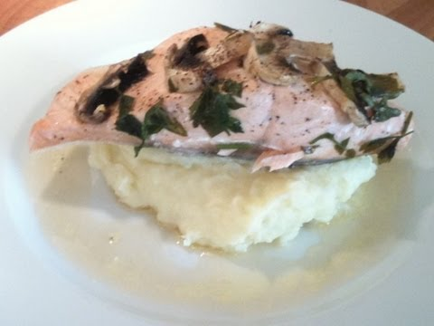 Salmon With Vermouth In Foil Cook-Along Video Part 1