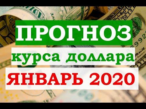Прогноз курса доллара на 15-30 января 2020