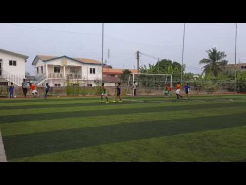 Astros football academy match Ghana u11
