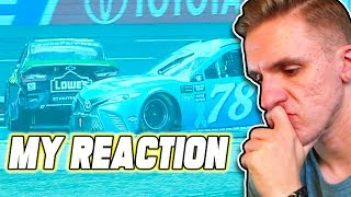 THE LAST LAP OF THE ROVAL... // NASCAR Heat 3 Online Racing
