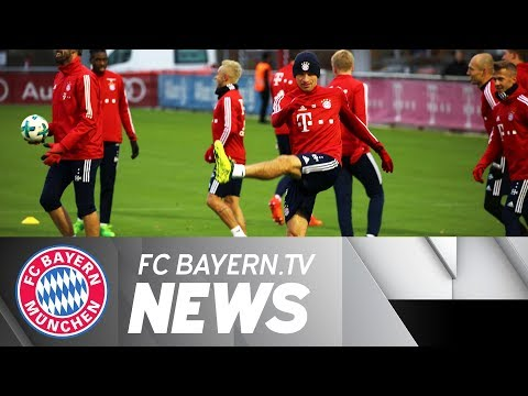 Busy days at FC Bayern - James back in Munich
