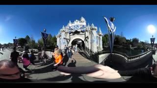 Disneyland in 360° Degrees #360Video
