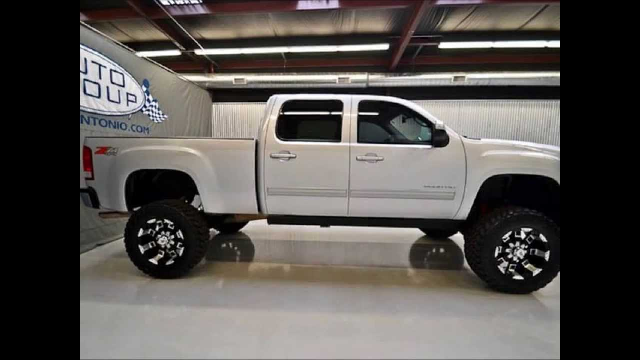 2012 GMC Sierra 2500 Z71 Lifted Truck For Sale - YouTube