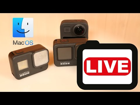 How to live stream from multiple GoPro cameras on macOS