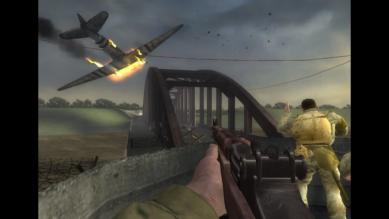 Medal of honor vanguard (русская версия) first-person.