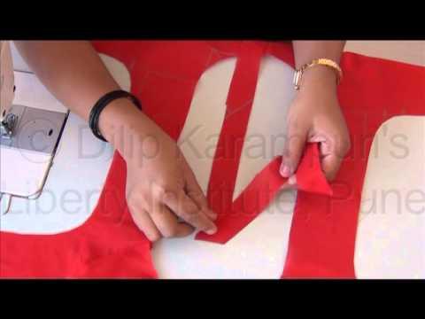 Blouse cutting & stitching in marathi