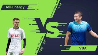 Полный матч Hell Energy 9 2 VBA Турнир по мини футболу в городе Киев