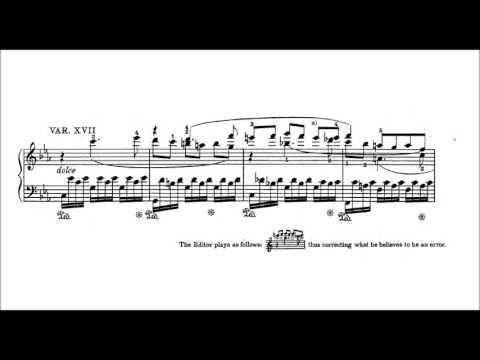 Beethoven : 32 Variations in C minor, WoO 80 (Andor Foldes)