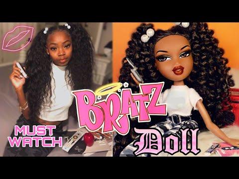 TURNING MYSELF INTO A BRATZ DOLL!! Bratz Doll Challenge!