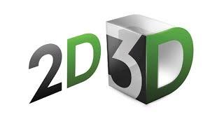 Unterschied zwischen 2D, 2.5 D, 3D-Animation