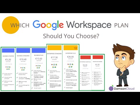 Google Workspace Plans: Which One Should You Choose? An In-Depth Guide 2021.