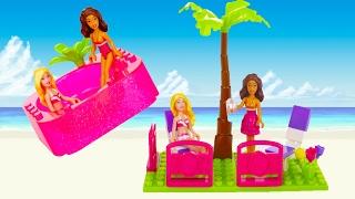 Барбі Побудувати 'п Style Beach House - Mega Bloks - Іграшки для дівчаток