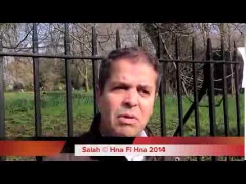 وقفة إحتجاجية ضد العهدة الرابعة أمام القنصلية الجزائرية بلندن Algerians in London