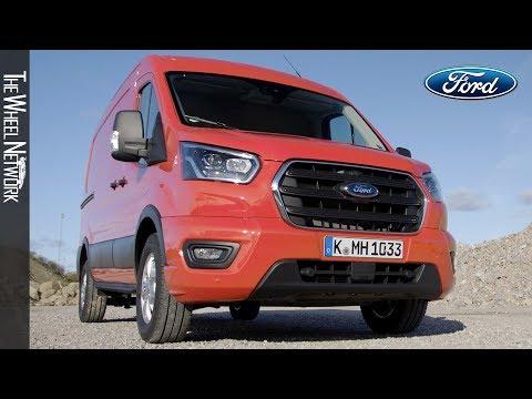 2020-ford-transit-van-hybrid-l3/h2-|-driving,-interior,-exterior