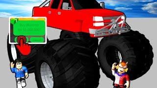 jailbreak comprando o carro de 1 000 000 monster truck