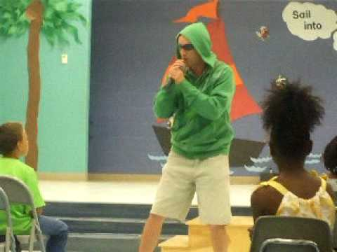 RAPPING TEACHER AT PERQUIMANS CENTRAL  SCHOOL
