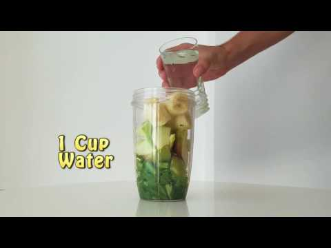 Green Smoothie For Shiny Hair And Glowing Skin