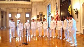 "Naval Academy ""Anchormen"" Tribute to 9/11-""Hole in the World"" by The Eagles"