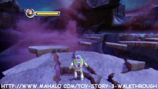 Toy Story 3 Walkthrough - Buzz Video Game Part 1