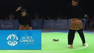 Pencak Silat Men's Ganda (Doubles) - Finals 1st Placing (Day 5) | 28th SEA Games Singapore 2015