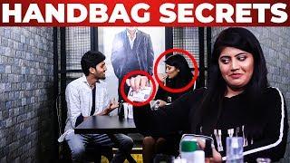 Vantha Rajavathaan Varuven Actor Ananya Shetty Handbag Secrets Revealed | What's Inside The HANDBAG