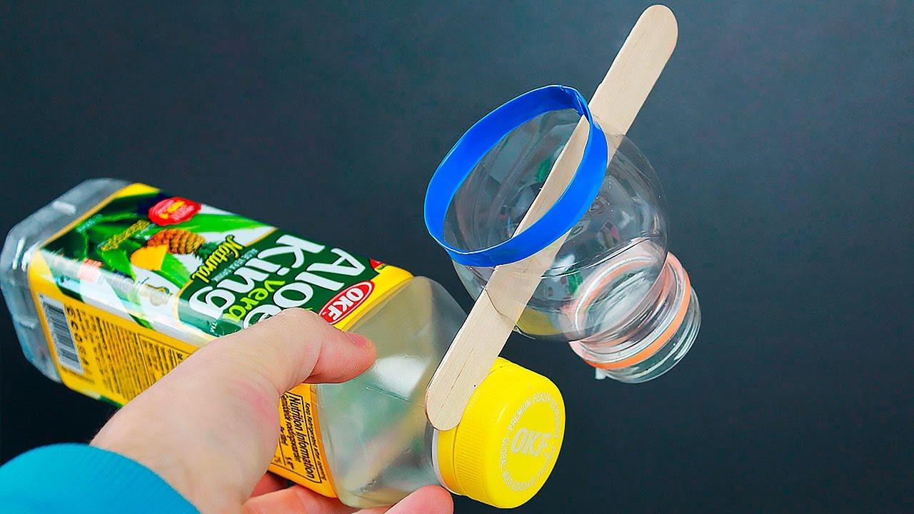 5 New Ideas From Plastic Bottles