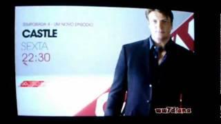 Castle anúncio temporada 4 AXN - (Castle season 4 AXN promo)