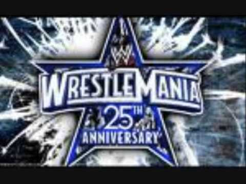 WWE Wrestlemania 25 Theme Song - ACDC War Machine