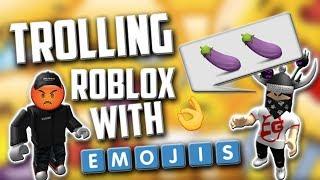 ROBLOX Emoji trolling