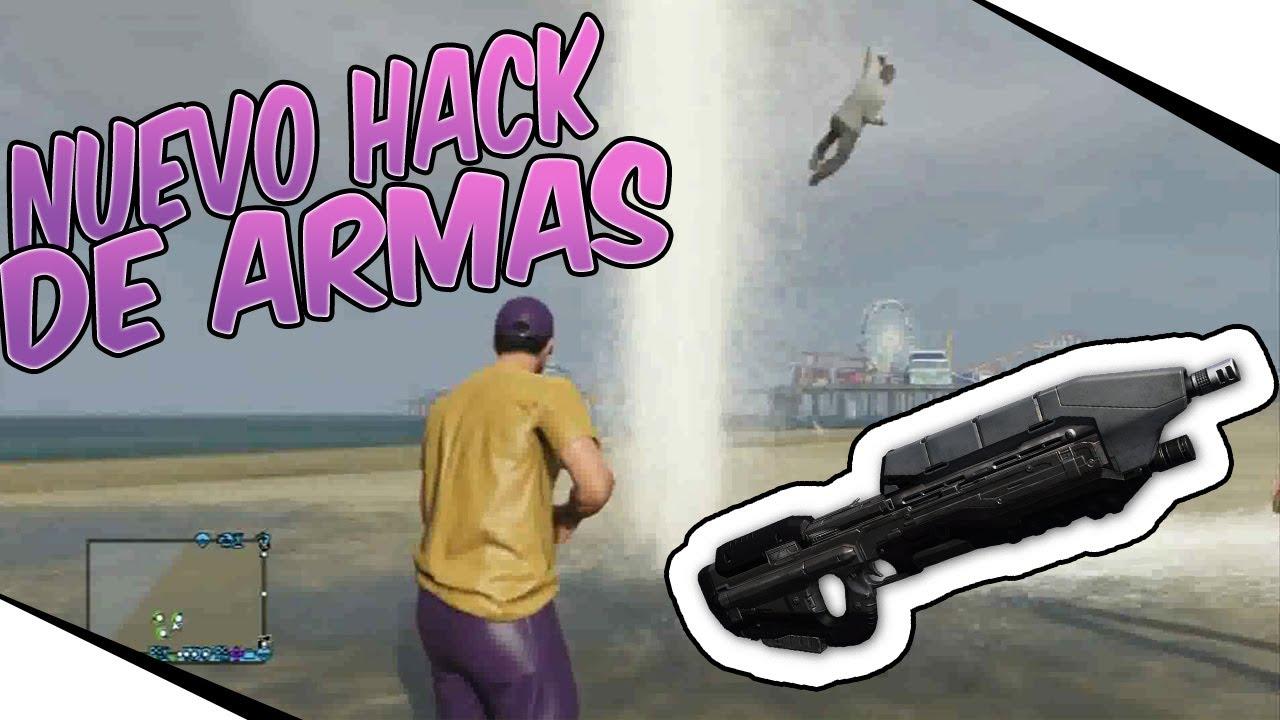 Nuevo HACK de armas de agua y fuego GTA 5