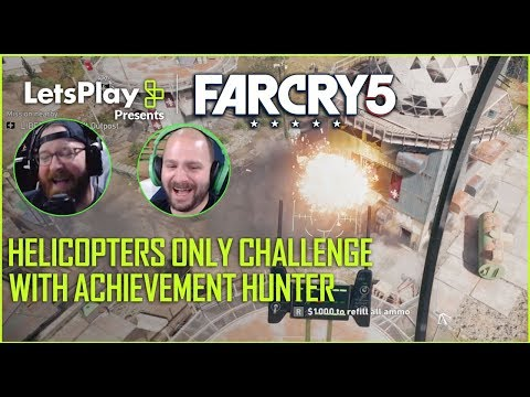 Far Cry 5: Helicopters Only Challenge With Achievement Hunter | Let's Play Presents | Ubisoft [NA] thumbnail