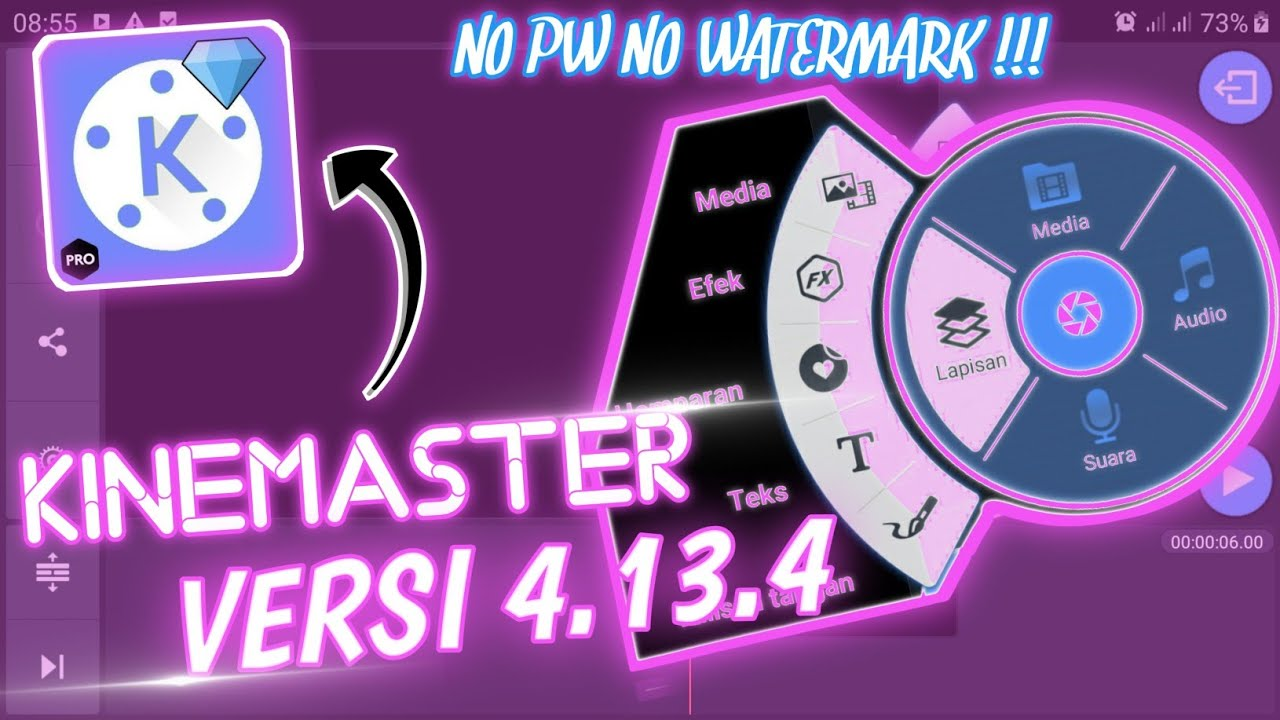 🔴KINEMASTER PRO Terbaru 2020 Versi 4.13.4    No Password Dan No Watermark