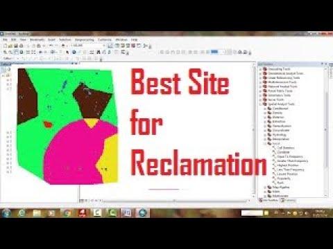 11- Land Reclamation using GIS أنسب الأراضي للاستصلاح