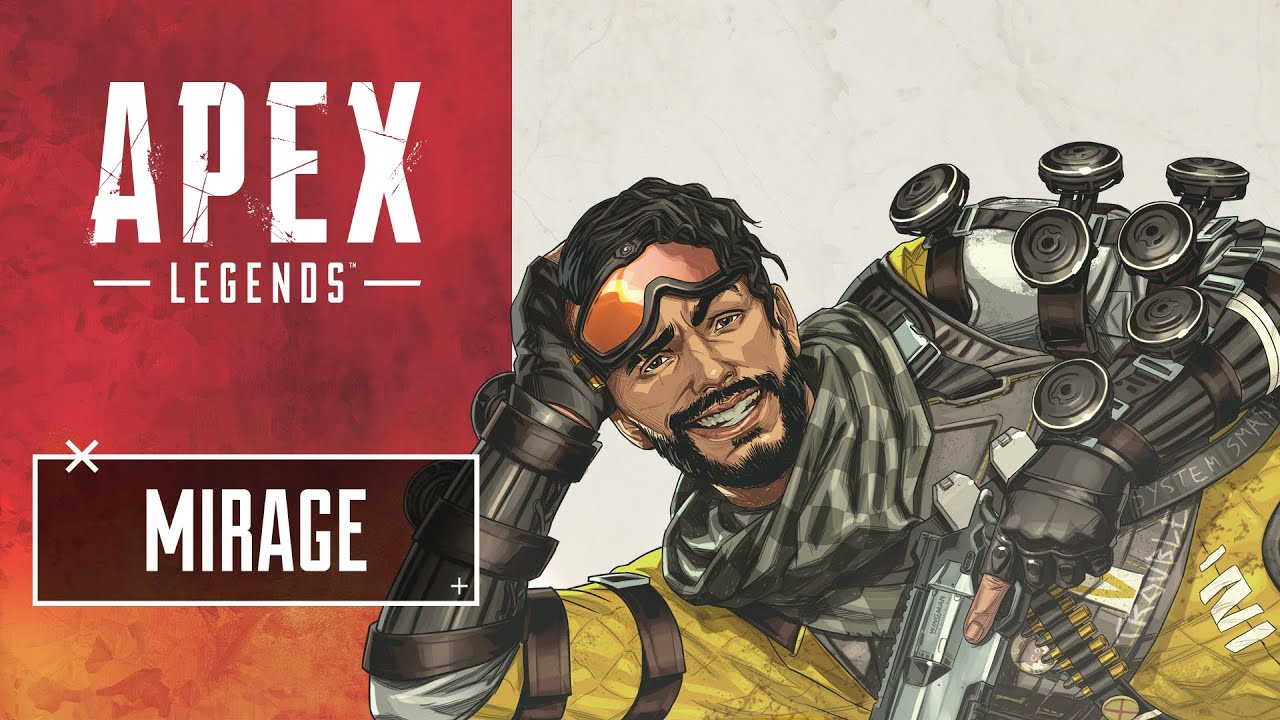 Mirage – Holographic Trickster – Apex Legends™ Characters