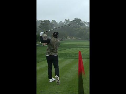 """""""Golf is hard"""" errant tee shot moments 😬"""