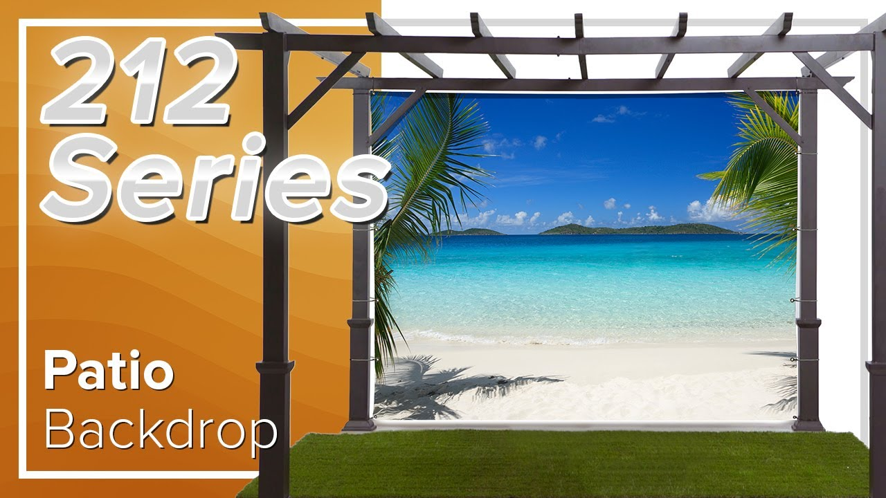 Designer Patio Backdrop Screens 212 Series Youtube