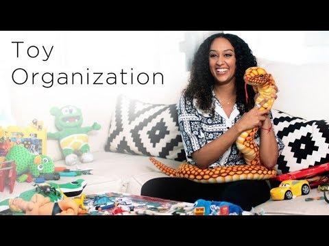 Tia Mowry's 4 Toy Organization Hacks | Quick Fix