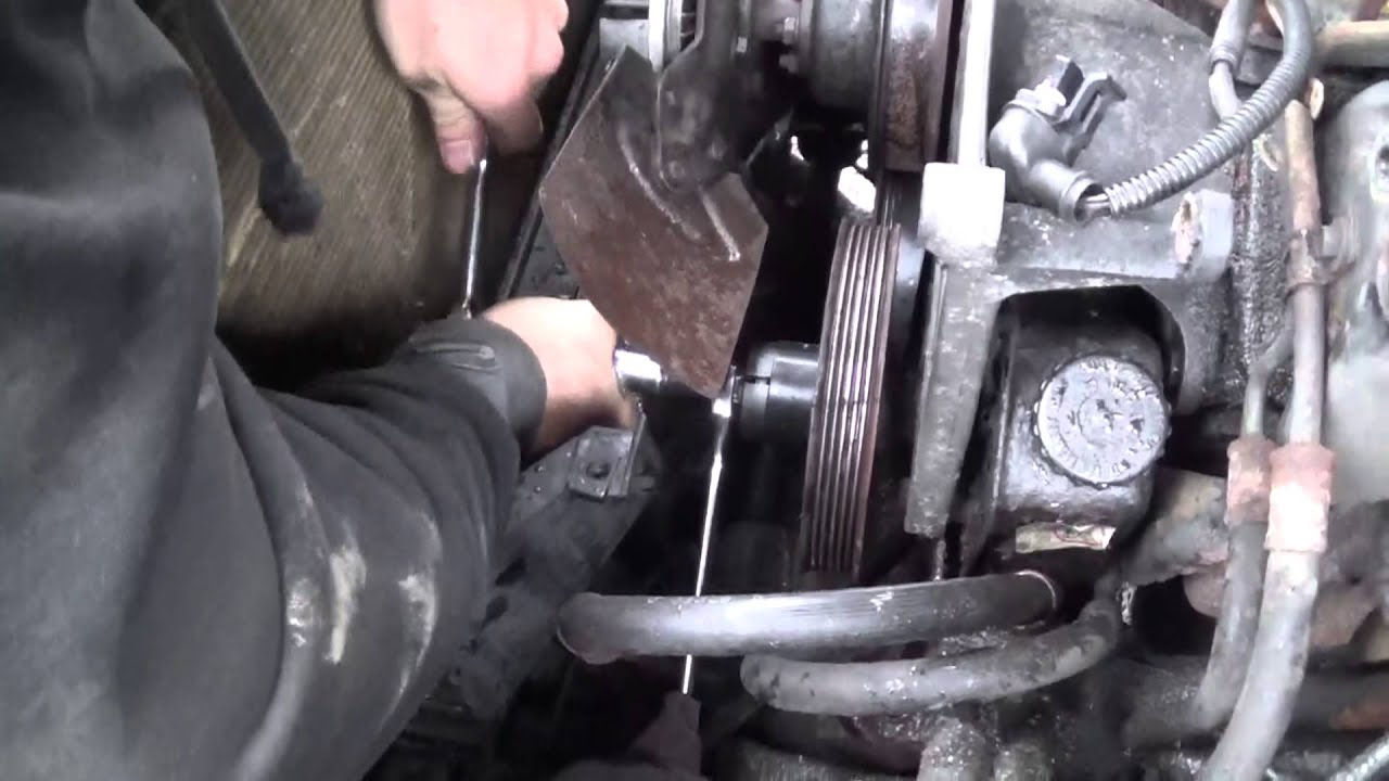 removing power steering pulley from 1989 blazer s10